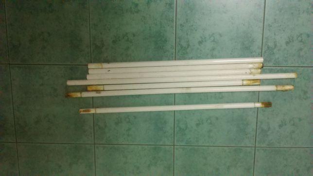 Труба стальная тонкотелая лёгкая Д19*д18 по 0,6 и 0,8м цена за метр