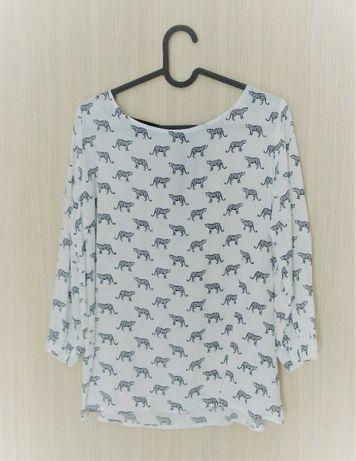 Koszula Mohito, XS, zwierzęcy wzór/gepard, stan idealny