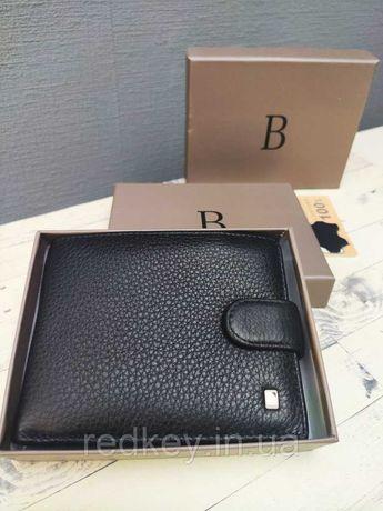 Портмоне мужское Baliya 538-1 Black   натуральная кожа