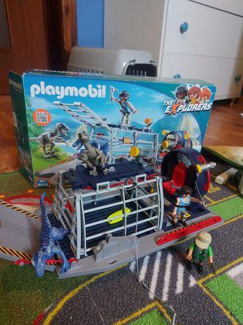 Playmobil 9433 łódź śmigłowa z klatka