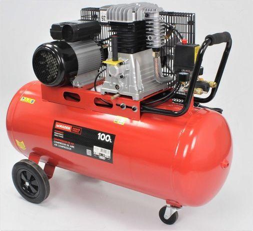 Compressor de Ar, Monofásico, 100L - MADER®