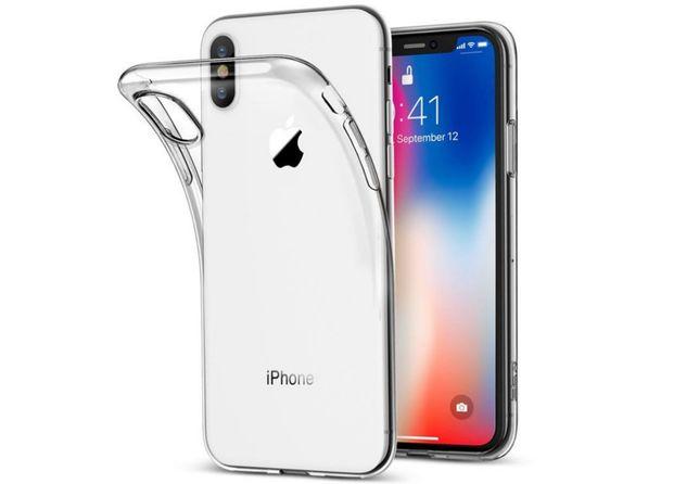 Прозрачный силиконовый чехол для Iphone Айфон X XS Max Xr 11 12 Pro