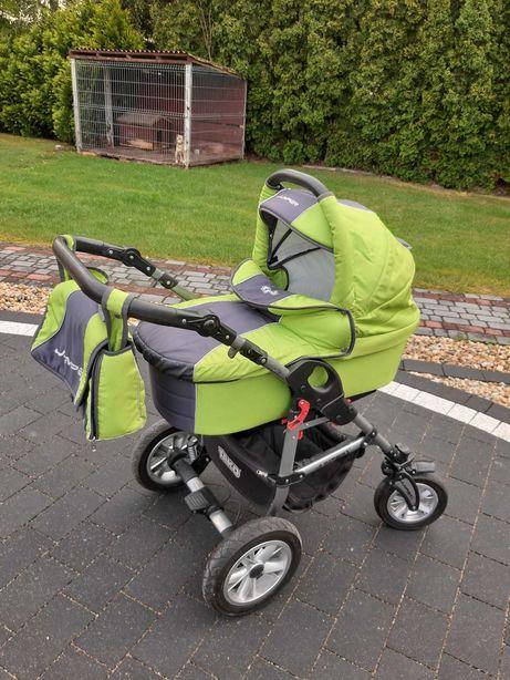 Wózek dziecięcy TAKO JUMPER 3 w 1 + gondola, spacerówka i nosidełko