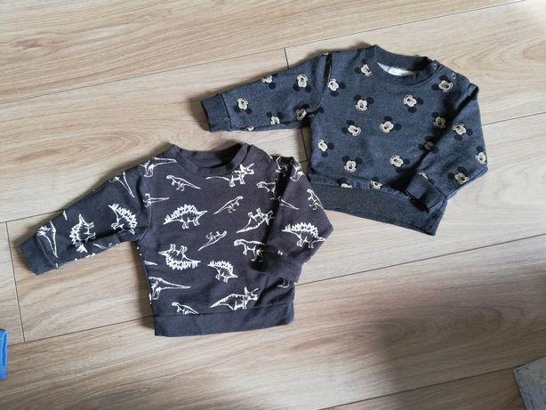 Bluza niemowlęca 2 sztuki fox&bunny myszka miki