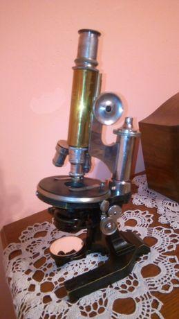 "Mikroskop E. Leitz Wetzlar ""Leica"" antyk"