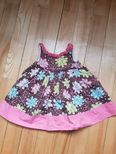 Śliczna sukienka 80 cm na 12 miesięcy