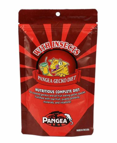 Pangea - różne smaki, opakowanie 57g - dla gekon orzęsiony