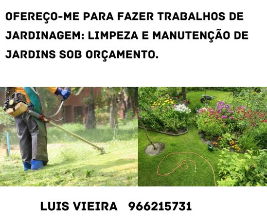 Trabalhos de Jardinagem (m/f)