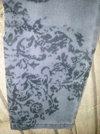 Spodnie ciążowe z kwiatowym wzorem