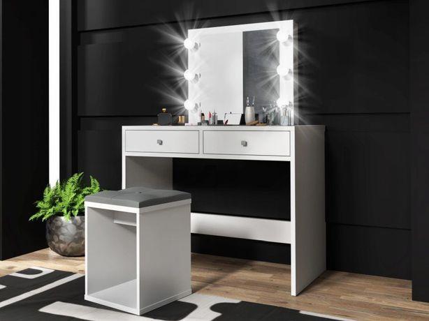MONTE 6 LED Toaletka z lustrem! Żarówki LED! KOLORY! Dowóz Gratis!
