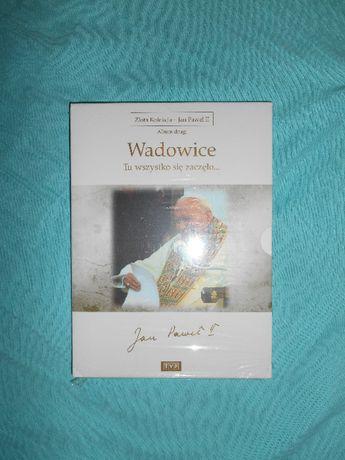 Jan Paweł II Wadowice DVD Nówka folia Film Dokumentalny