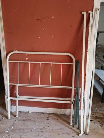 Cama de ferro antiga, completa 185cm*110cm, vintage