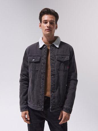 Джинсовая теплая куртка Cropp
