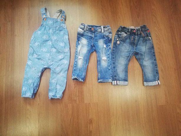Джинси і джинсовий комбінезон 9-12 місяців