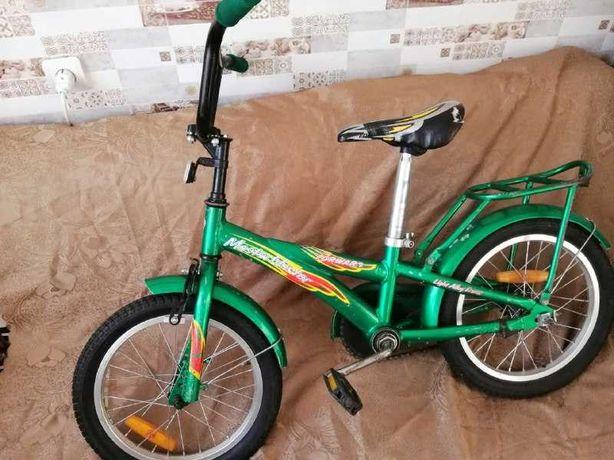 Надійний велосипед дитячий 4-8 років б/у колеса 16х2,125