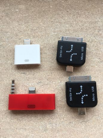 Adaptadores Iphone 4/5/Mini/Micro Usb