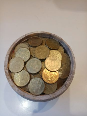 Одна гривна 1000 шт Бочонок золотых монет