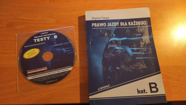 Prawo jazdy dla każdego Zbigniew Papupa wyd. Liwona +CD + Gratis