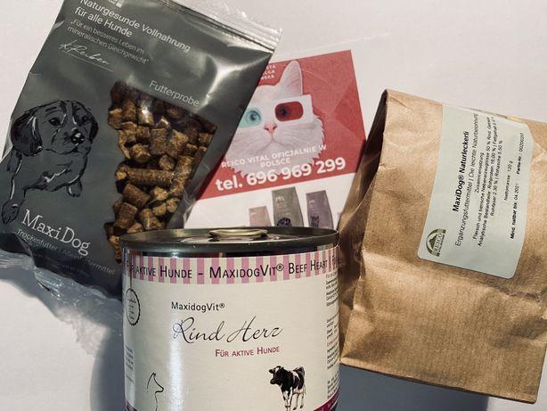 Produkty dla psa i kota/ karma/ przekąski/ zioła/ witaminy Reico Vital