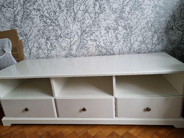 Szafka RTV IKEA Liatorp biała
