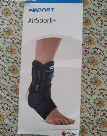Suporte para tornozelo para entorces e outras lesões