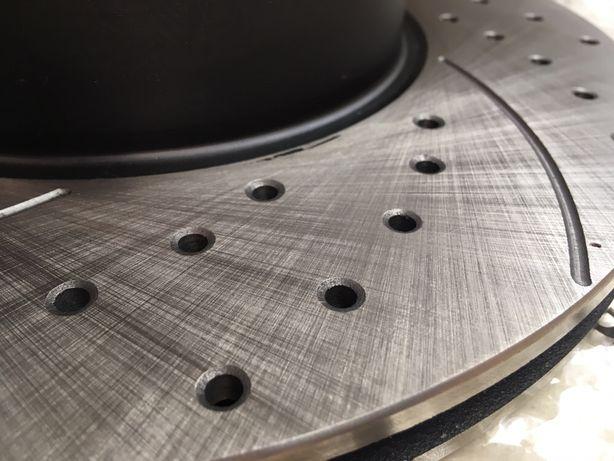 Передние тормозные диски MICODA (насечки + перфорация) для BMW E36