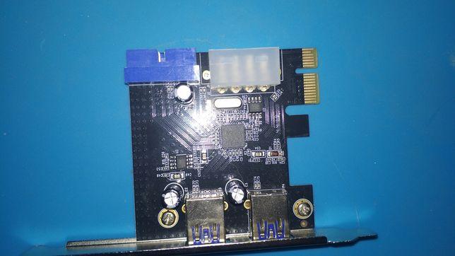 Плата расширения USB 3.0 pci-e
