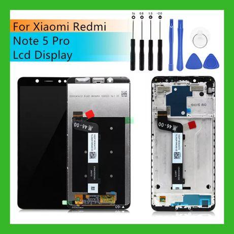 Модуль Xiaomi Redmi Note 5 Pro + Рамка Plus Вклеєний Дисплей Екран