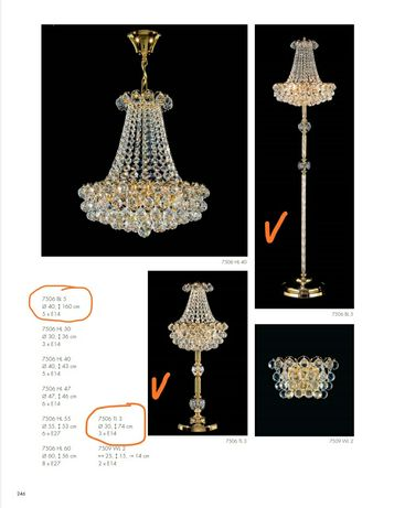 Продам лампу и торшер Dotzauer (комплект)