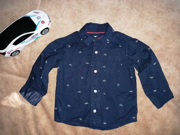 Рубашка 12-18 zara, carters, rebel