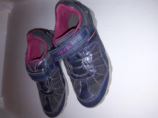 GEOX półbuty - buty sneakersy rozm. 25 granatowe