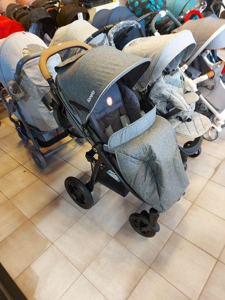 Wózek Lionelo Annet , pompowane koła