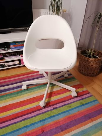 Krzesło obrotowe białe IKEA