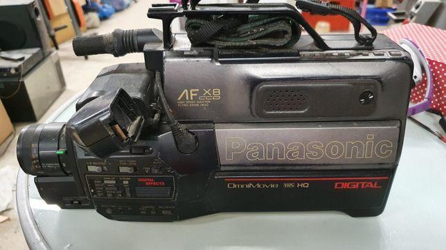 Duża kamera Panasonic VHS video PRL kolekcja vintage