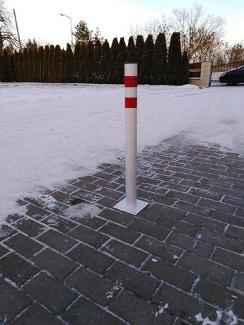 Blokada parkingowa słupek stała 75 cm
