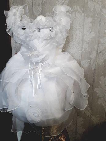 Sukienka do chrztu, ślub, okolicznościowa r.98-110