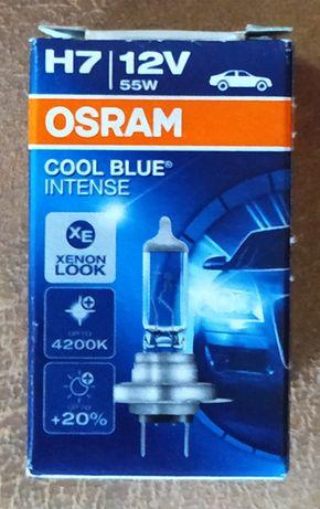 Галогенные лампы: OSRAM (H7).
