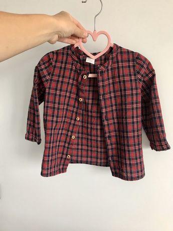 Сорочка рубашка h&m 18M