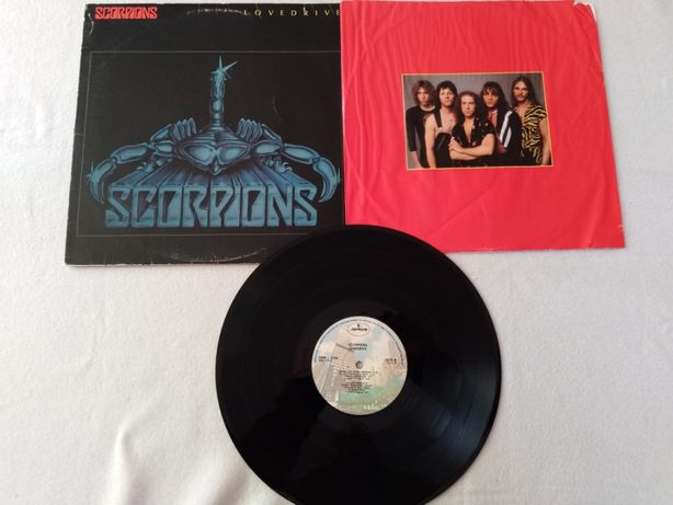 Scorpions-Lovedrive-LP-Mercury USA