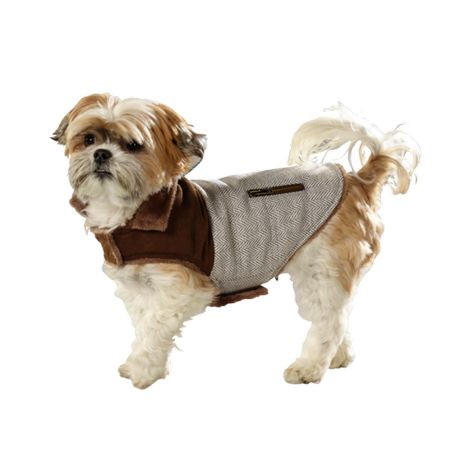 płaszczyk dla psów w rustykalnym stylu firmy AniOne