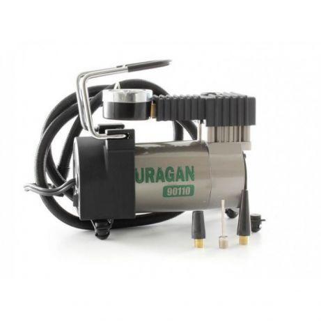 Автомобильный компрессор URAGAN 90110 (Авто компрессор) (24 мес. гаран