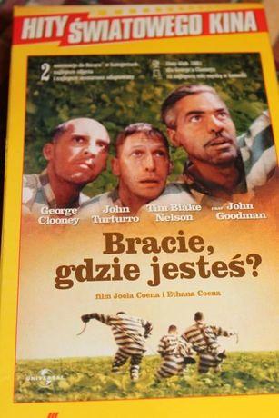 VHS film Bracie gdzie jesteś i Truman Show kaseta wideo
