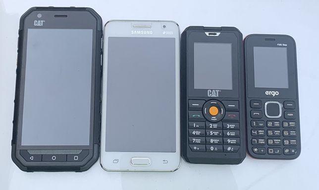 Телефоны Cat s30, Cat b30, Samsung g355h, Nokia(ergo)