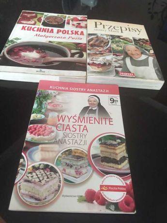 Zestaw książek kucharskich