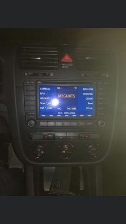 Rádio / Autorádio Multimédia MFD2 VW Volkswagen Golf 5