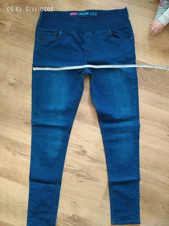Spodnie jeansy ciążowe New Look Maternity super skinny 42