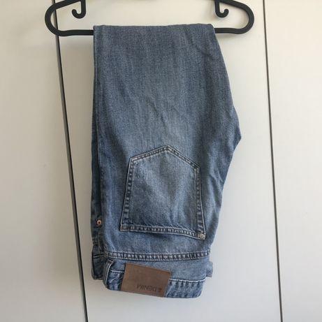 Dżinsy H&M 26 36/38 low waist boyfriend s/m jasne jeansy spodnie