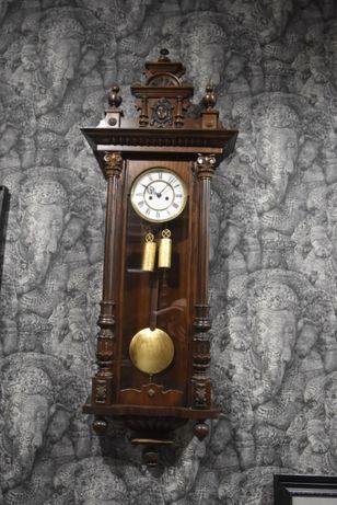 XIX zegar eklektyczny żyłkowiec Gustav Becker