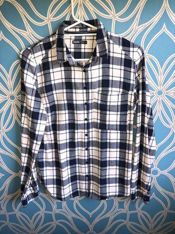 Koszula w kratę Cropp