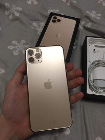 Iphone 11 pro max gold 64gb , stan idealny, ubezpieczenie na ekran .